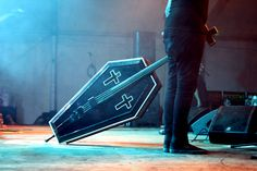 coffin double bass