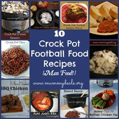 10 Crock Pot Football Food Recipes from @Clair @ Mummy Deals