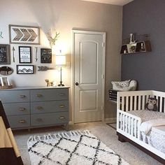 Here's what you need to know when designing a baby boy nursery.