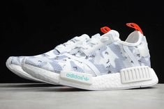 WMNS adidas NMD R1 Camo Pack Cloud White/Solar Red G27933 For Sale Nmd R1, Adidas Nmd_r1, Adidas Sneakers, Camo, Solar, Packing, Clouds, Red, Shoes