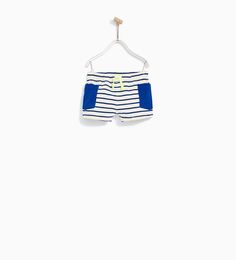 STRIPED BERMUDA SHORTS WITH POCKETS-NEW IN-BABY BOY | 3 months - 4 years-KIDS | ZARA United States