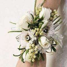 Unique Wrist Corsage Design. - Yelp