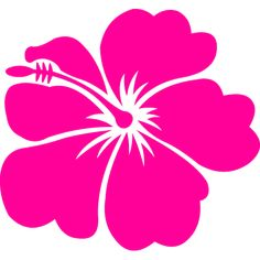 Hawaiian luau themes are popping up everywhere. Whether you're hosting a small indoor luau party or a big backyard summer luau event, set the party in motion with these free Hawaiian borders. Hawaiian Flowers, Hibiscus Flowers, Art Flowers, Stencil Patterns, Stencil Designs, Hawaiian Luau Party, Hawaiian Quilts, Cricut Creations, Scrapbooking