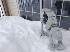 Atat walker in the snow LIKE