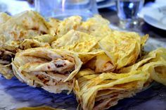 Cape Malay roti: I would kill for one of these with some curry right now!!