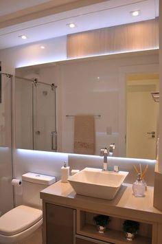 Banho Social: Banheiro por Luizana Wiggers Projetos
