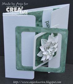 Made by Anja: http://www.crealies.blogspot.nl/2015/08/a-new-one.html & https://www.crealies.nl/detail/1357419/15-08-08-anja.htm CreaLies Items: Crea Nest Lies XXL no. 27 Uno no. 23 Set of 3 no. 23 Flower 14 Duo Dies no. 23 Flower 14 On The Edge no. 8 Tekststans no. 1