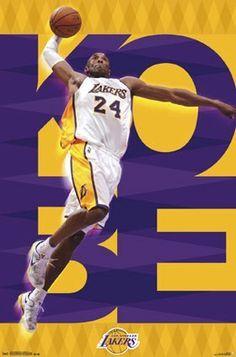 6ca1f0f2 KB Lakers Kobe Bryant, La Lakers, Nba Los Angeles, Sports Wall, Poster
