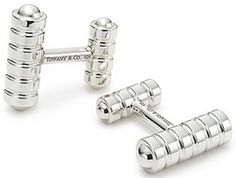 T&CO. Men's Cufflinks  Visit www.TheLAFashion.com for more Fashion insights and tips