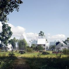 EFFEKT+designs+ReGen+Villages+that+could+produce+all+their+own+food+and+energy