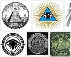 眼睛在三角形里是古埃及一个有寓意的图案,描述多用Eye of Providence, eye of God, All seeing eye, pyramid eye, triangle eye 资料来源:http://en.wikipedia.org/wiki/Eye_of_Horus