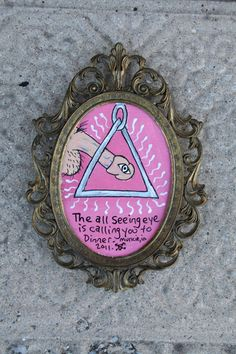 While on Etsy, Which I love almost more than pinterest I found this.... an all seeing eye penis..... its 5X7 so itll fit nicely on a wall or shelf..... hmmmmm....