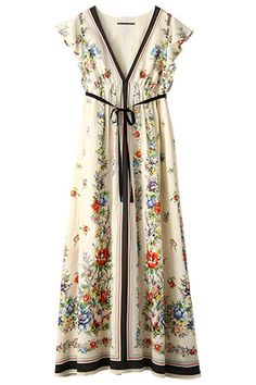 so charming for 100 degree weather - it even looks cool Hippie Style, Bohemian Style, Boho Chic, Mode Style, Style Me, Beautiful Outfits, Cute Outfits, Gorgeous Dress, Moda Formal