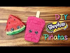 DIY Shopkins Pinata Party Favors Tutorial Shopkins Cookies – How to make a Sh. DIY Shopkins Pinata Party Favors Tutorial Shopkins Cookies – How to make a Shopkins Cupcake Cook Shopkins Pinata, Fete Shopkins, Shopkins Cookies, Shopkins Bday, Shopkins Party Ideas, Pinata Party, Diy Party, Party Favors, Birthday Party Themes