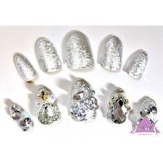 Diamond Earrings, Nails, Jewelry, Decor, Finger Nails, Jewlery, Decoration, Ongles, Jewerly