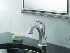 Buy the Delta Chrome Direct. Shop for the Delta Chrome Dryden Single Hole Bathroom Faucet with Diamond Seal Technology - Includes Pop-Up Drain Assembly and save. Brass Faucet, Widespread Bathroom Faucet, Lavatory Faucet, Bathroom Sink Faucets, Bathrooms, Hall Bathroom, Basement Bathroom, Bathroom Ideas, Delta Dryden