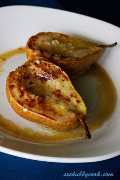 Baked Pears | www.seehubbycook.com | #recipe #dessert #easy #pears
