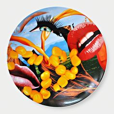 Jeff Koons, 'Lips (Limited Edition Porcelain Plate)', 2013, Contemporary art.