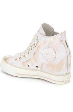 Main Image - Converse Chuck Taylor® All Star® Lux Brush Off Hidden Wedge High Top Sneaker (Women)
