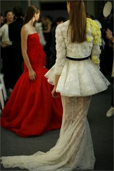 Giambattista Valli Haute Couture F/W 2013-14 - Backstage
