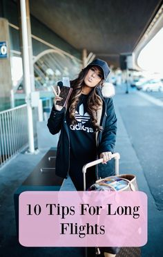 What I Wore Traveling Home From Paris + 10 Tips For Long Flights – The Sweetest Thing