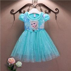 Cheap elsa dress, Buy Quality anna elsa dress directly from China princess anna elsa dress Suppliers: Girl Dresses Summer Brand Baby Kid Clothes Princess Anna Elsa Dress Snow Queen Cosplay Costume Party Children Clothing New Years Baby Kids Clothes, Toddler Girl Outfits, Kids Outfits, Toddler Girls, Baby Girls, Baby Boy, Frozen Dress, Elsa Dress, Dress Lace