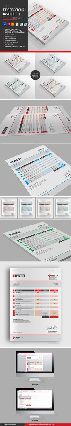 Web Design Proposal W  Contract, Invoice Business proposal - website proposal template