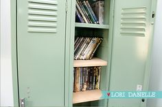 Locker  DVD Storage DIY | Lori Danelle