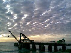 Atardecer, Muelle Vergara, Viña del Mar, Chile