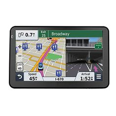 Quanmin 7inch Portable HD Screen Car GPS Navigation Sat Nav 800MHZ FM DDR256M RAM 8GB Bluetooth AVIN With Newest USA Canada Mexico 3D Map >>> You can find more details by visiting the image link.