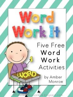 Freebie Friday - Word Work