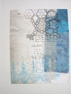 Thread and Thrift: Sketchbook Pages