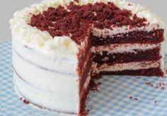 Rețeta Tort velvet sau Tort catifea roșie. Un desert perfect pentru orice sărbătoare! Red Velvet, Tiramisu, Mousse, Orice, Ethnic Recipes, Diana, Food, Cakes, Cake Makers