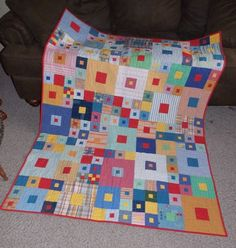 FREE printable quilt pattern- Hip to be Square- from Jo's Country Junction.  #joscountryjunction  #freequiltingpattern