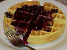 Gluten Free Coconut Flour Belgian Waffles | Low Carb Yum | #lowcarb #LCHF #glutenfree #keto #recipe