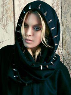 lindsey thornburg studded cloak.