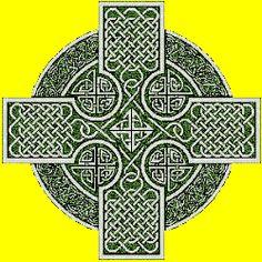 A Common Celtic Cross Knot Pattern
