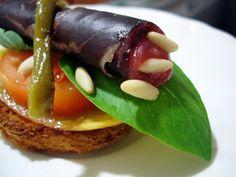 tapa de cecina y queso de cabra by El Aderezo - Blog de Recetas de Cocina,