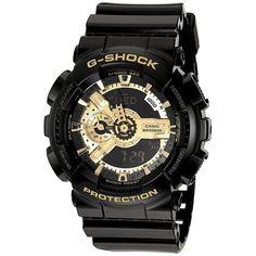 Casio GA110GB-1A: G Shock Limited Edition Black Gold Watch, Adult Unisex