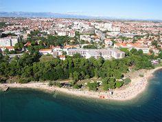 Kolovare Beach in Zadar