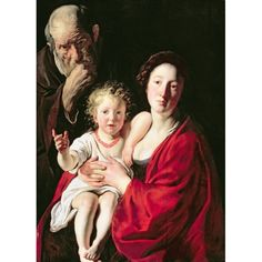 Jacques Jordaens, La Sainte Famille, 1628