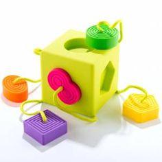Fat Brain Toys: sorter kostka OombeeCube, 75 zł