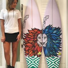 New December #BoardArt Contest entry from Luiza C. (@lucechelero) of #Brazil! Vote for this entry now at GROM-IT.com! This months Board Art Contest winner also earns a chance to receive a custom-shaped #Orion #shortboard in our next Board Art Final! Submissions are NOW being accepted for this months Board Art Contest so get YOURS in today at WWW.GROM-IT.COM for a chance to win a prize pack from Grom-It x Lost (@lost9193) x @ChumsUSA x @BeyondCoastal_Suncare! #surfing #skateboarding…