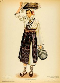 Traditional Dresses, Traditional Art, Folk Costume, Costumes, Wrap Around Skirt, Folk Embroidery, Medieval Clothing, Free Black, Fashion History