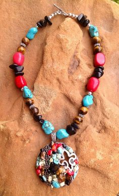 Amy Cate Designs - Fleur of the Southwest, $28.00 (http://amycatedesigns.mybigcommerce.com/fleur-of-the-southwest/)