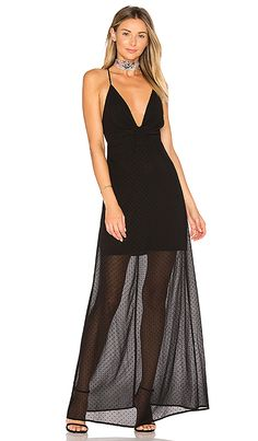 Shop for by the way. Heike Deep V Maxi Dress in Black Dot at REVOLVE. Free 2-3 day shipping and returns, 30 day price match guarantee.