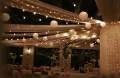 Image Search Results for lights for wedding celings
