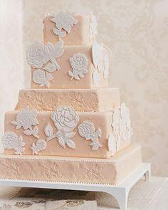 Rose-Stamped Design | Martha Stewart Weddings