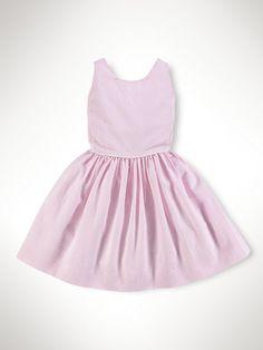 Bow-Back Seersucker Dress - Dresses & Rompers  Girls 2–6X - RalphLauren.com