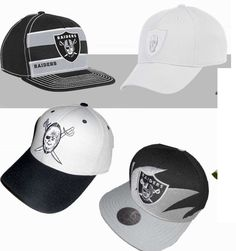OAKLAND RAIDERS VINTAGE CLASSIC MITCHELL & NESS SHARKTOOTH STRIPE SNAPBACK HAT | Sports Mem, Cards & Fan Shop, Fan Apparel & Souvenirs, Football-NFL | eBay!